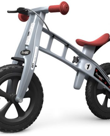 Bicicleta equilibrio Firstbike Cross Gris con freno