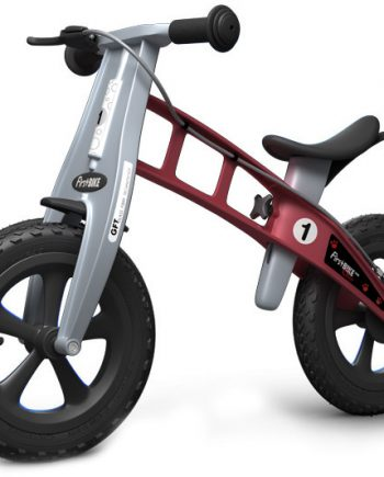 Bicicleta equilibrio Firstbike Cross Rojo con freno