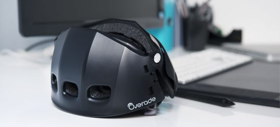 overade plixi casco plegable negro lifestyle