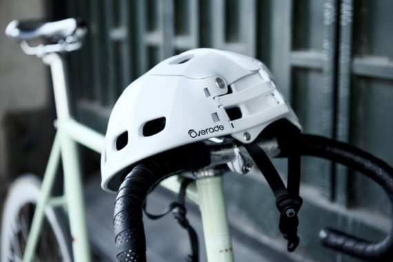 overade plixi casco plegable blanco lifestyle