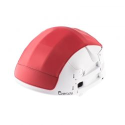 Cover rojo Casco plegable overade plixi