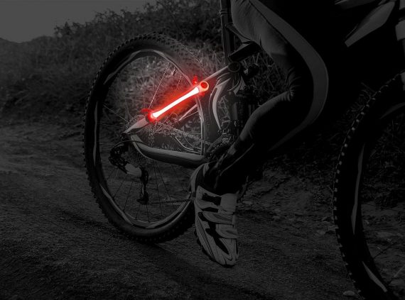 powerwrapz tiras led bicicleta
