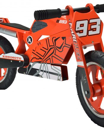 Bicicleta sin pedales madera Kiddimoto Heroes Marc Marquez