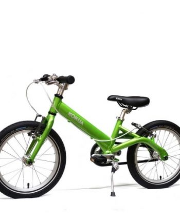 bicicleta infantil kokua like to bike 16 verde